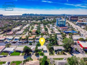 Aerial Shot 2220 SE 14th St Pompano Beach 33062 MLS F10153218